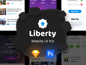 Liberty UI Kit – Free Sample