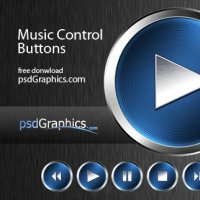 Music Сontrol Buttons