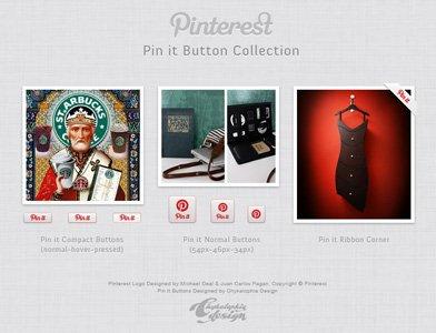 Pinterest Pin It Buttons