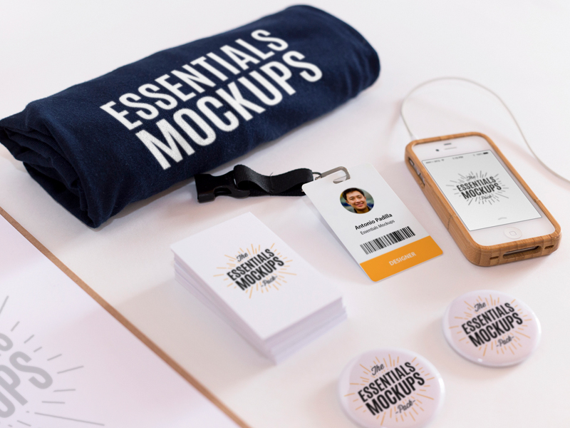 Essentials Mockup Vol.2