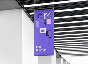 Flag MockUp PSD