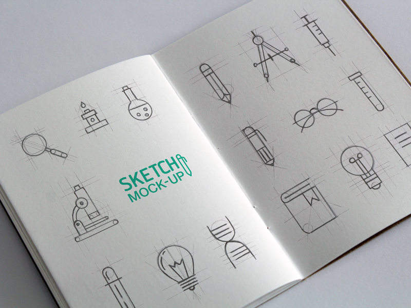 Sketchbook MockUps