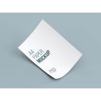 A4 Paper MockUp Vol1