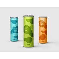Cylindrical Packaging Mock-Up