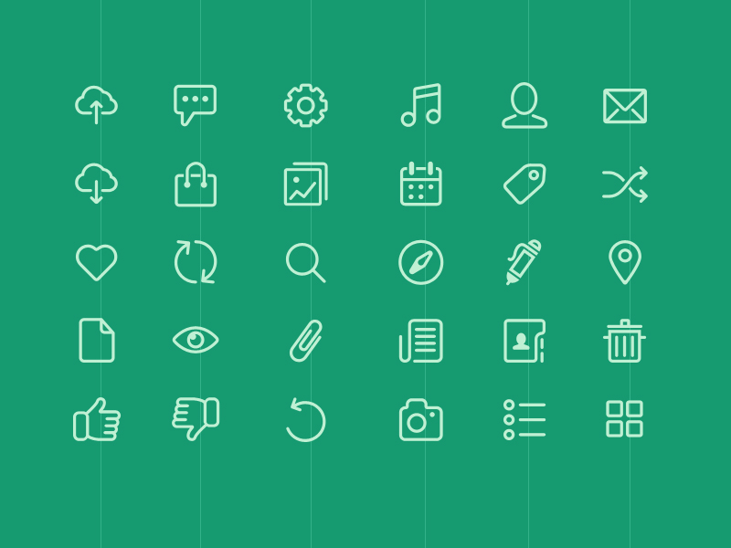 Icons from Chapps