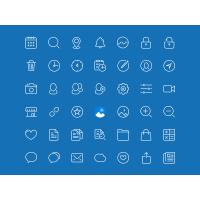 45 Line Icons