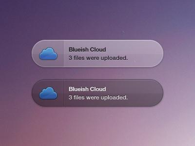 Blueish Cloud Growl