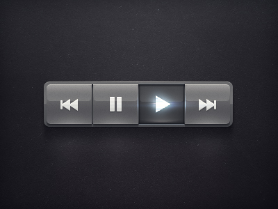 Media Controls Buttons