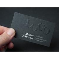 Embossed Business Card MockUp