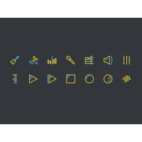 Sound Editing Icons