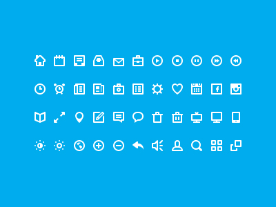 44 Shades Icons