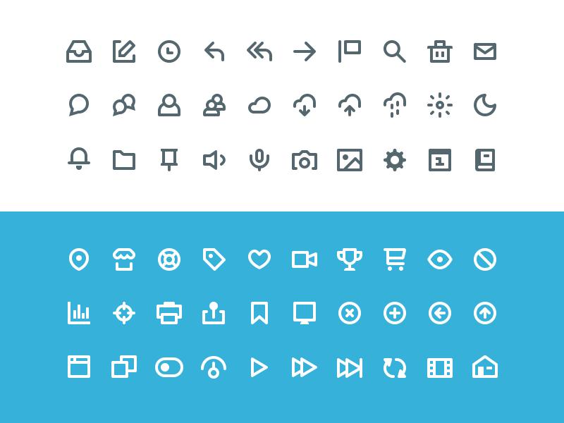 60 Icon Set