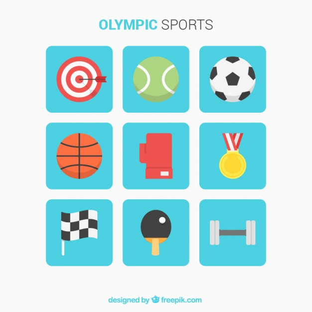 Selection Of Flat Elements For Olympic Sports