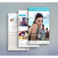 App Screen Front View MockUp