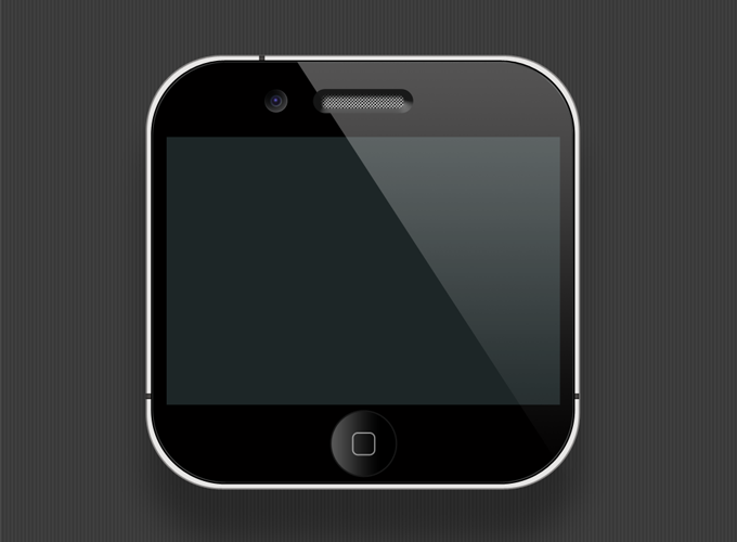 Mini iPhone PSD