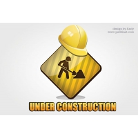 Under Сonstruction Icon PSD