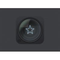 Lens Icon PSD