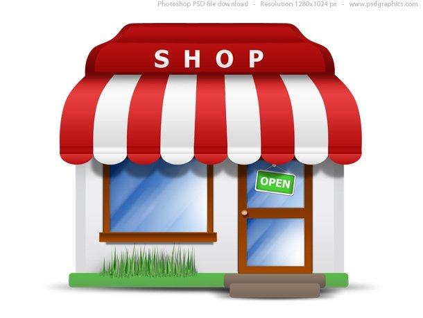 Small Store Icon