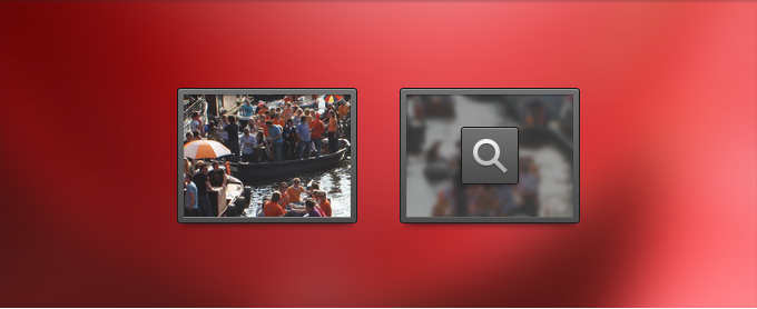 Image Icon and Hover State