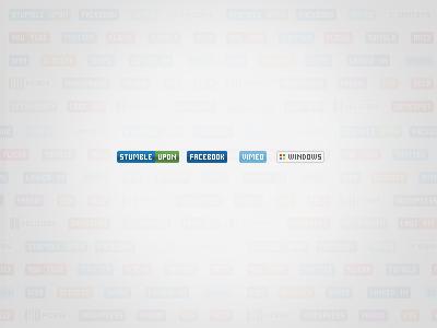 Social Button Badges