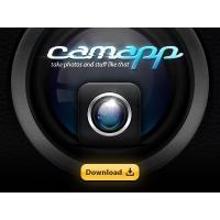 CamApp Iphone Icon Psd