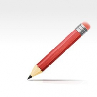 PSD Drawing Tools - Pencil and Ruler Icons