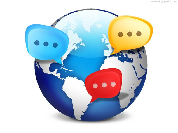 Global Social Network Icon