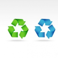 PSD Recycle Icon Set