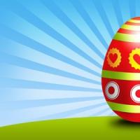 Easter Egg PSD Template