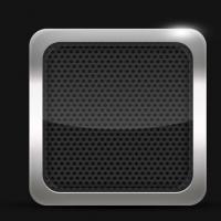 iOS iPhone iPad iPod App Icons Set PSD