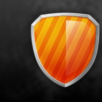 Glossy Shield PSD Icons