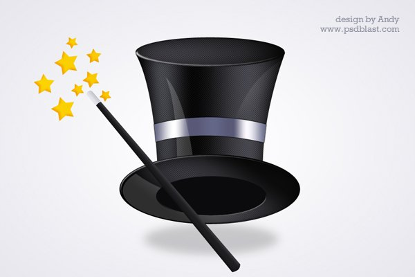 Magic Hat PSD