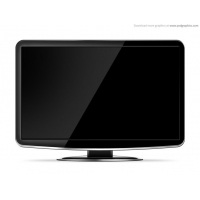 LCD HD TV template
