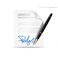Signing Contract Icon