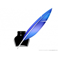Quill Pen And Inkwell Icon