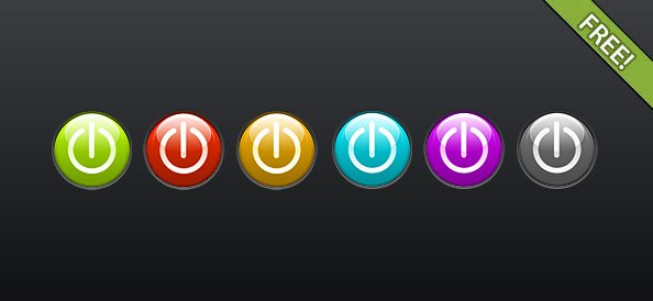 Free Power Icon Set