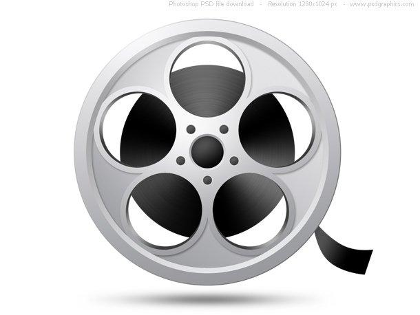 PSD Camera Film Reel Icon