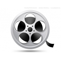 PSD Camera Film Reel Icon