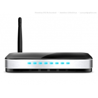 PSD Wireless Router Icon