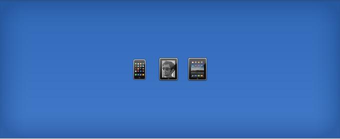 Apple iPhone, iPod and iPad Icons