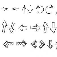 30 Free Black & White Hand Drawn Arrows