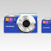 Free Full Layered Olympus Digital Camera Icon