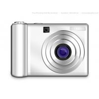 PSD Digital Photo Camera Icon