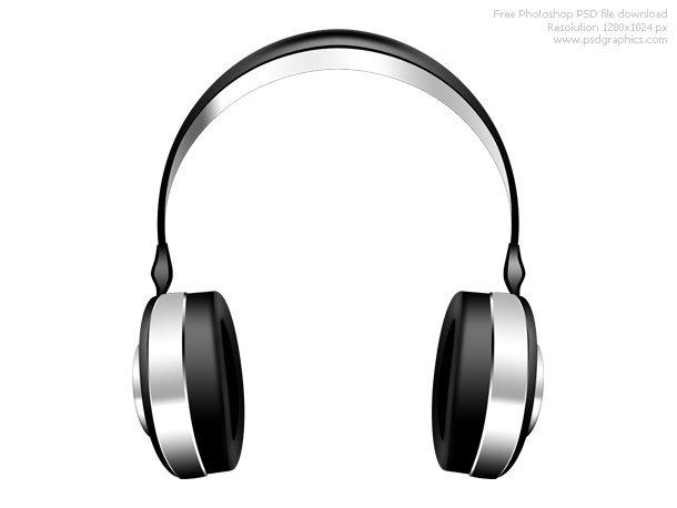 PSD Headphones Icon