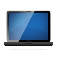 Black Laptop Icon