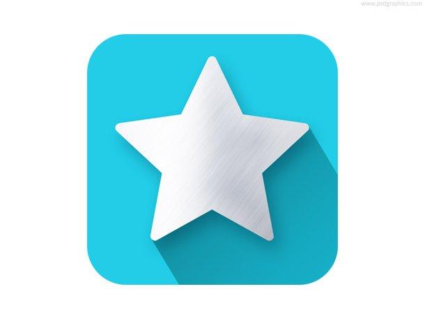 Star Shape Flat Icon
