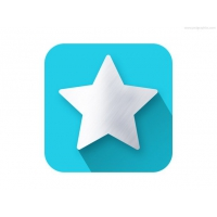 Star Shape Flat Icon