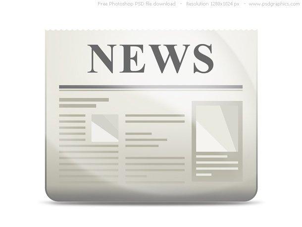 PSD News Icon