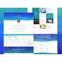 Freebie - Minimal iShow Personal Portfolio Psd