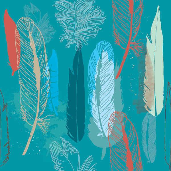 Feathers Pattern